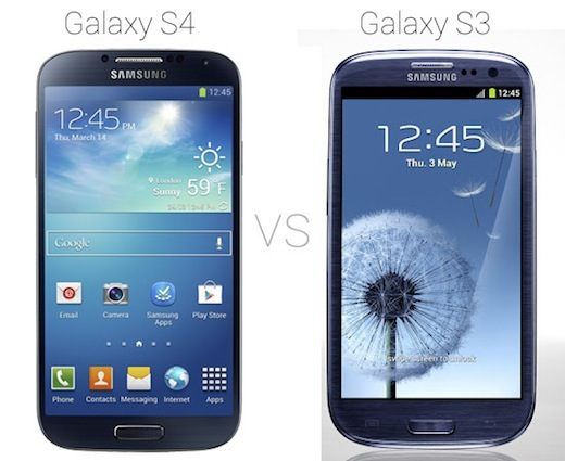 Galaxy-S4-vs-Galaxy-S3-looks-the-same-worth-the-upgrade-compair