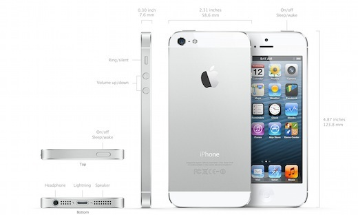 how tall is an iphone 5 apple announces the new lighter thinner and faster 18529